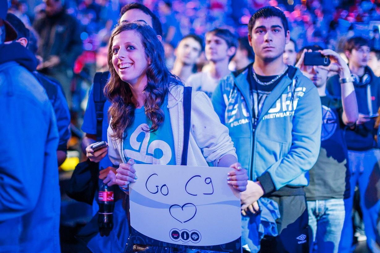 A Cloud9 rajongók kedvencei hullámvölgyben telelnek. | Fotó : lolesports.com