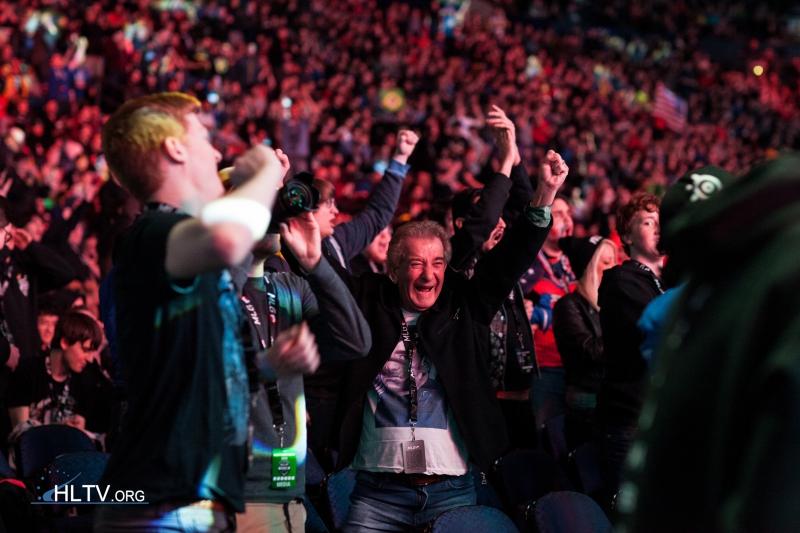 A közönség Columbus-ban is megőrült egy-egy megmozdulás után | Fotó: HLTV.org