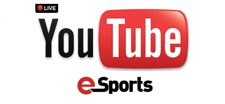 A Youtube Live újraindul mint esport és videojáték streamer platform